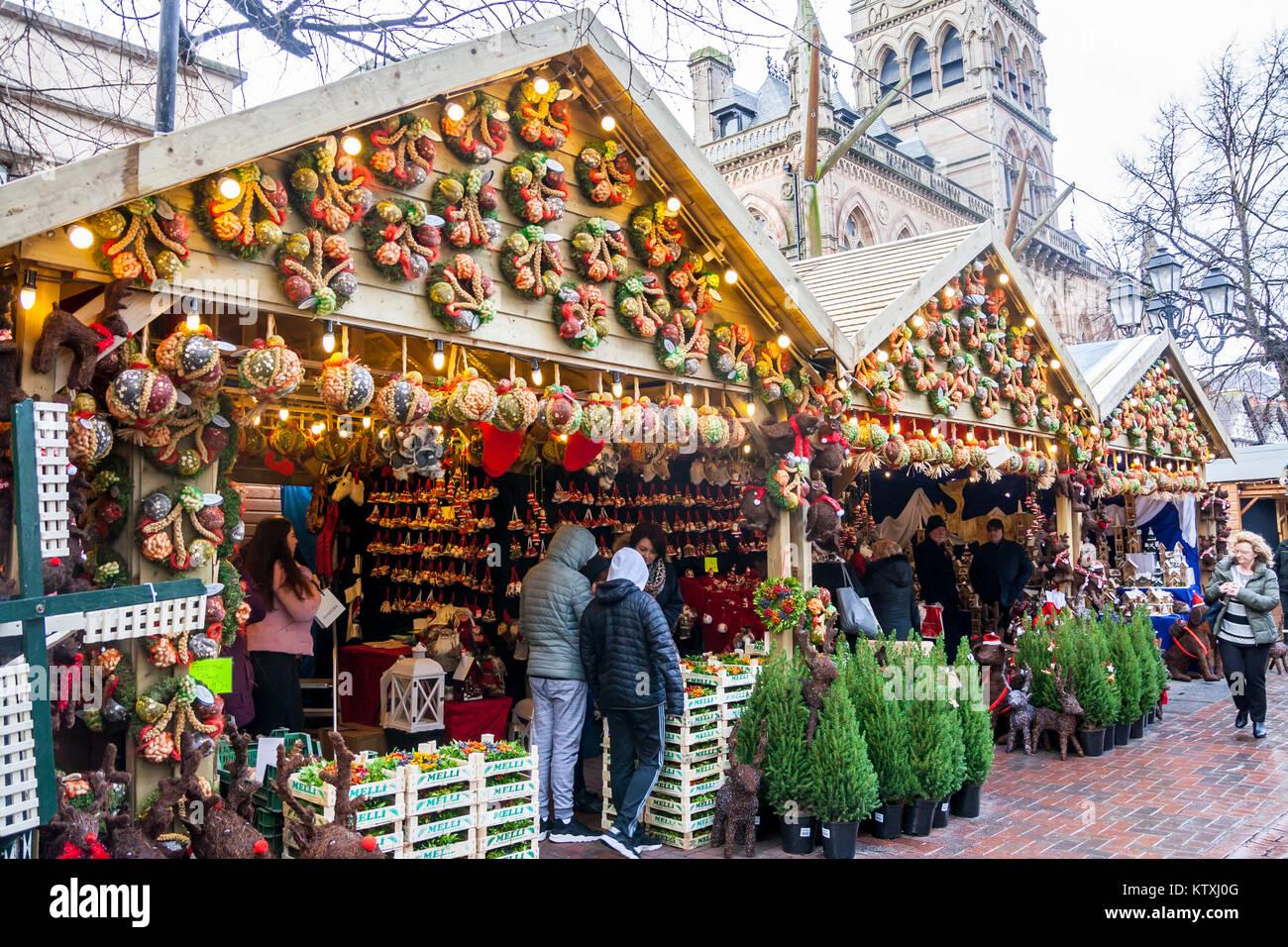 Cheshire Uk Christmas Bazaars 2020 Christmas Market, Stalls, Chester, Cheshire UK chester uk