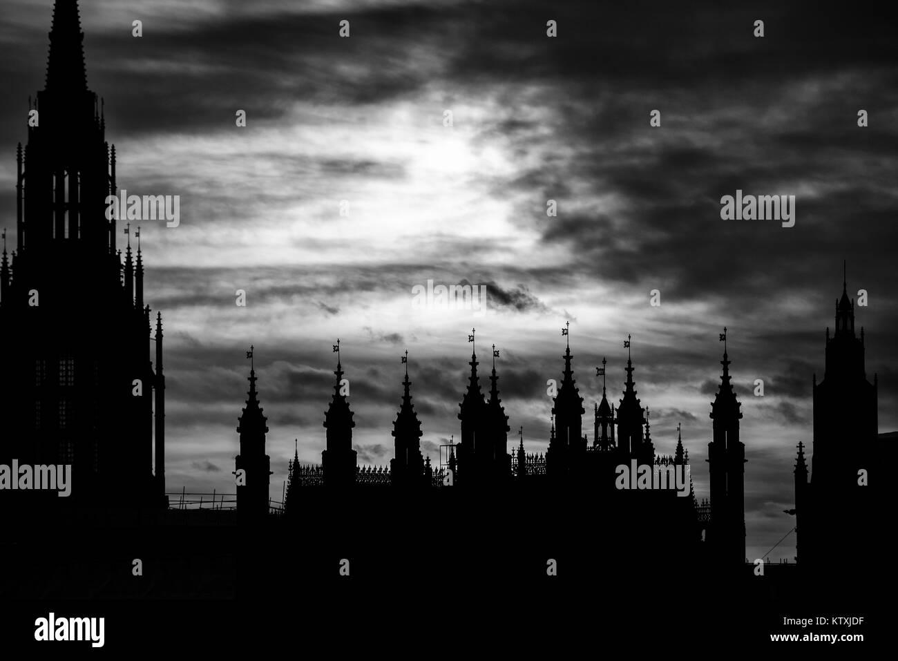 London Eye, Southbank - Stock Image