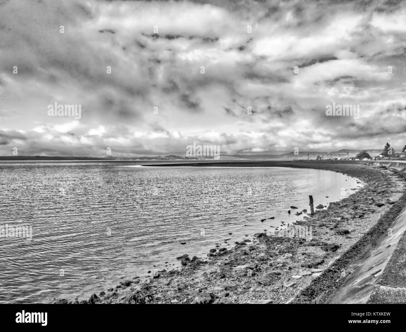 Largs Holiday Town & Seafront - Stock Image