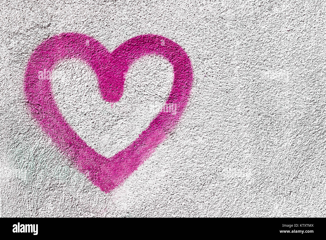 Pink Heart Shaped On Wall Background Symbol Of Love Rustic It Can Be Used As A Valentines Theme Poster Wallpaper Design T Shirts And Mor