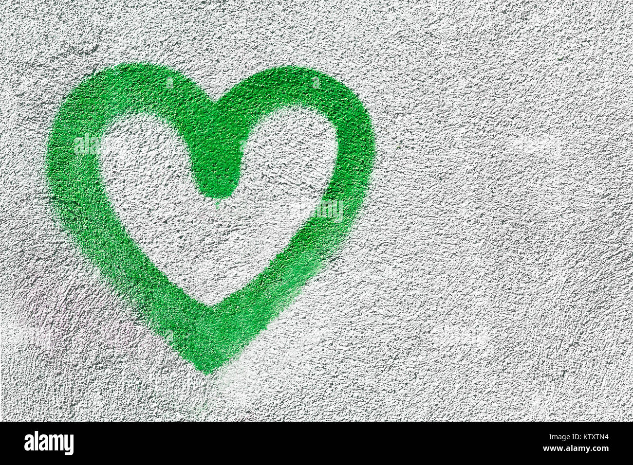 Green Heart Shaped On Wall Background Symbol Of Love Rustic It Can Be Used As A Valentines Theme Poster Wallpaper Design T Shirts And Mo