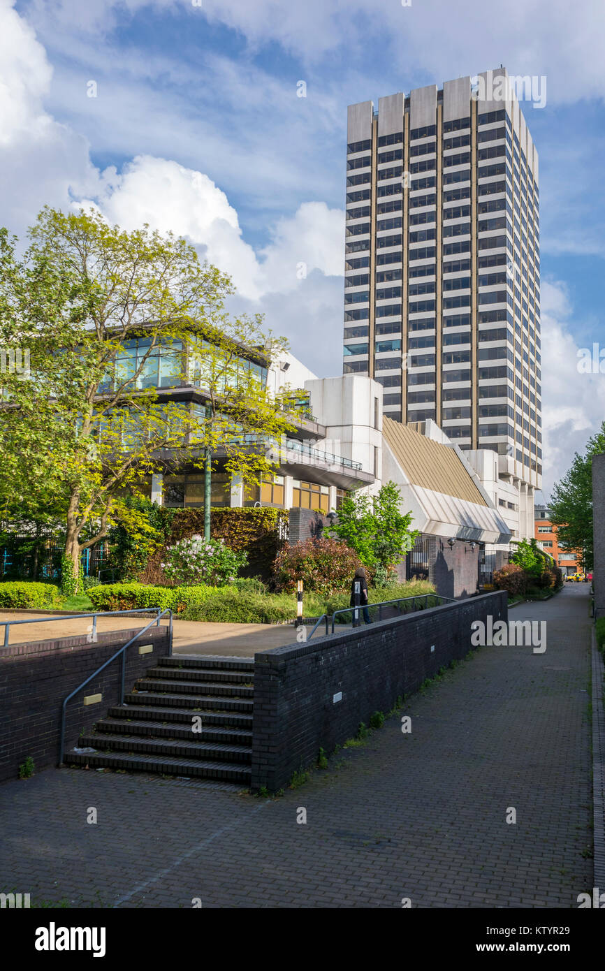 The London Studios / South Bank Studios / London Television Centre / ITV Towers / Kent House. TV studio complex, - Stock Image