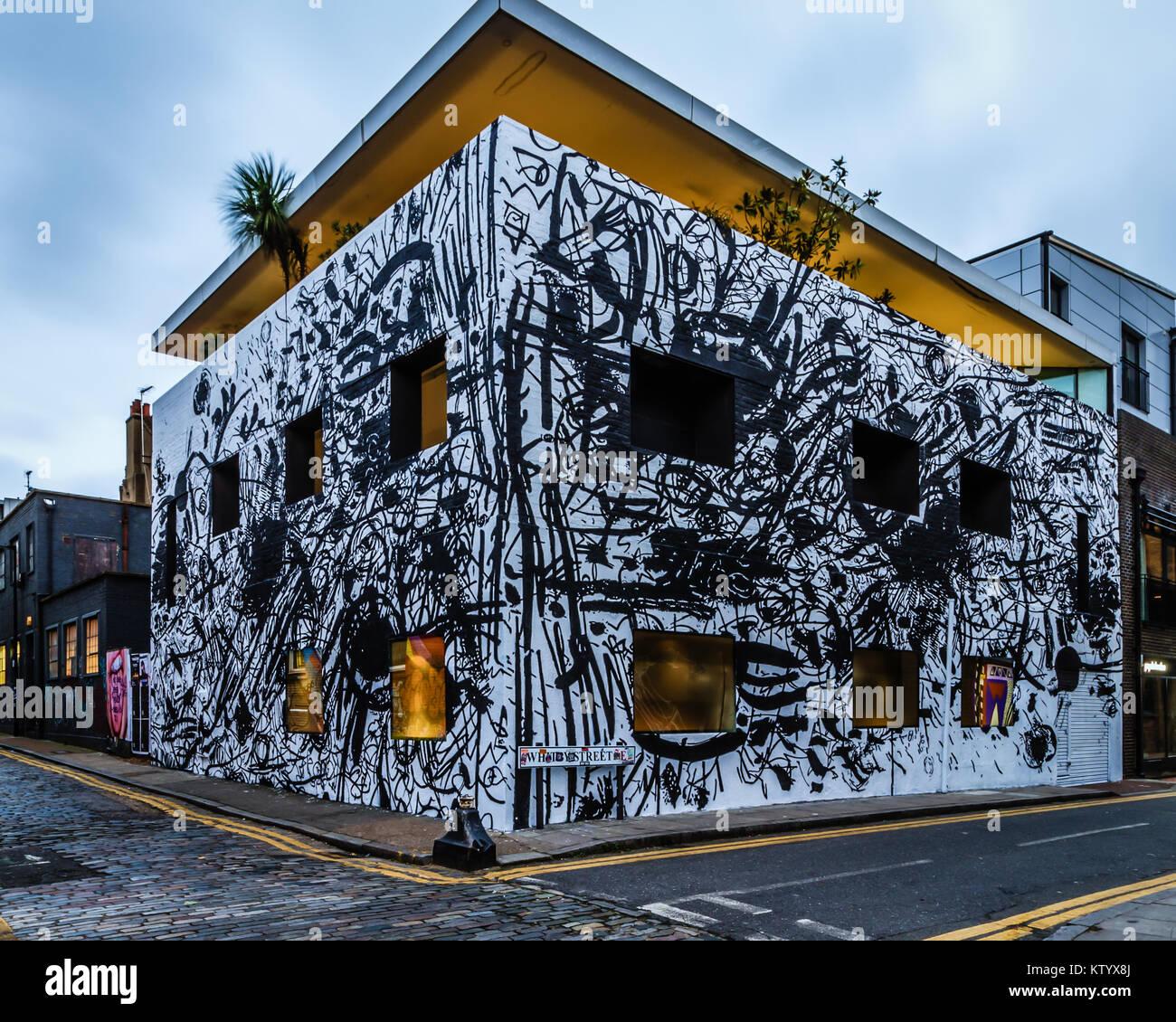 The Dirty House Designed By David Adjaye Stock Photo