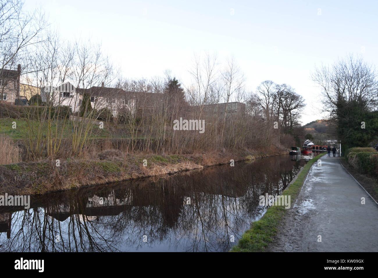 Llangollen, Denbighshire, North Wales Stock Photo