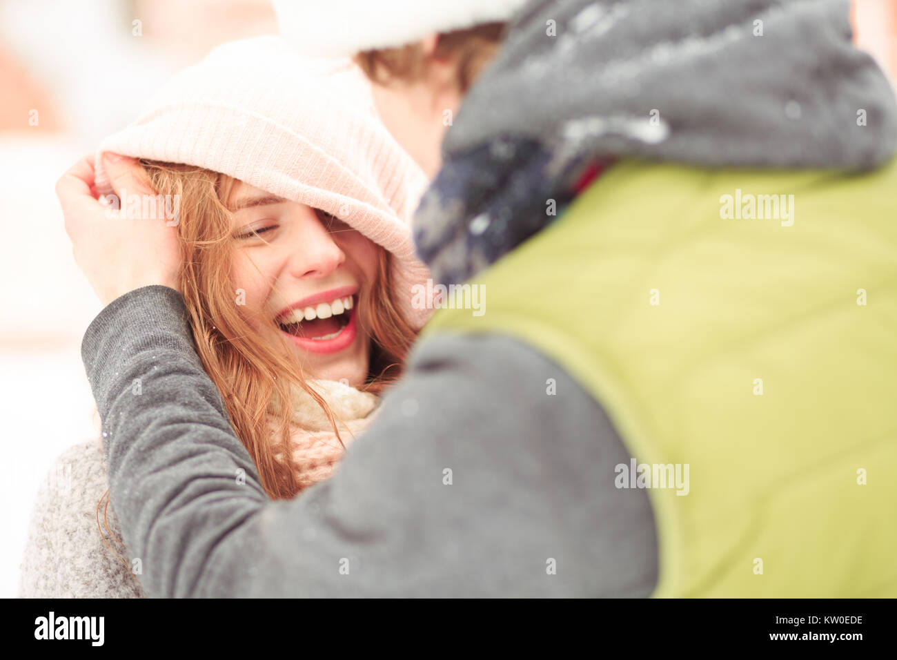 Memorable timespending for a couple - Stock Image