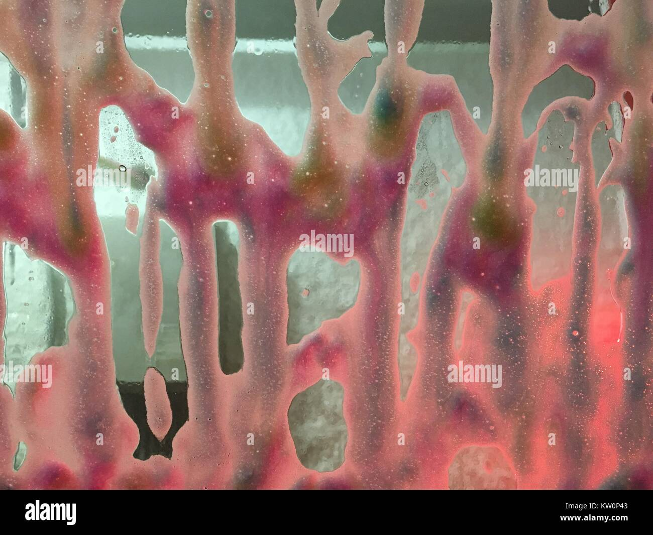 Car Wash Soap Suds Abstract Background - Stock Image