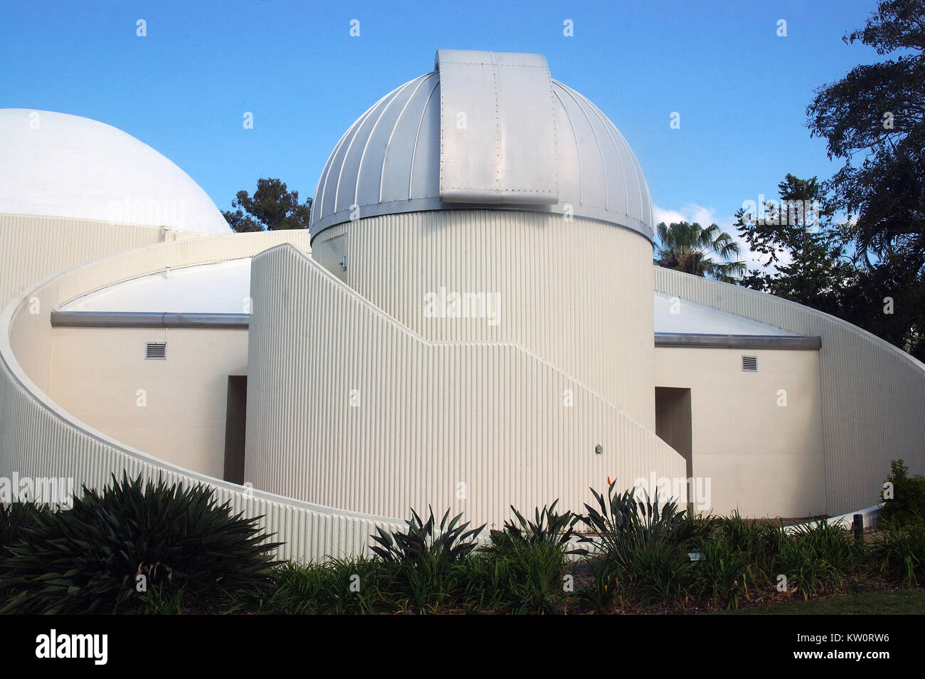 BRISBANE, AUSTRALIA, SEPTEMBER 28, 2008: Planetarium at Brisbane Botanical Gardens,  September 28, 2008, Brisbane, - Stock Image