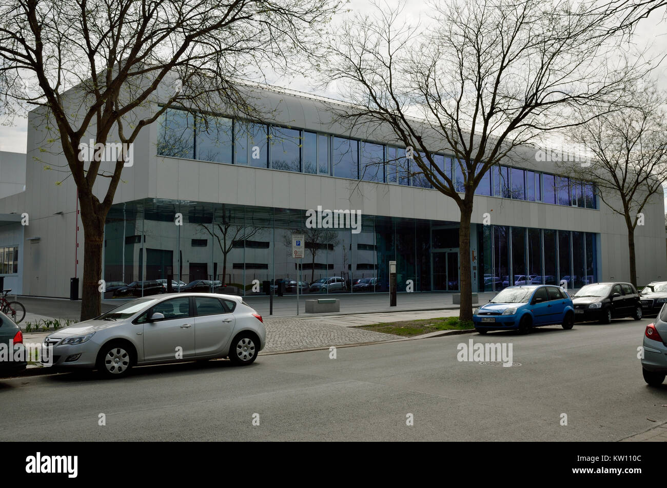 Dresden, vehicle college of technology of the college for technology and economy, Kfz Technikum der Hochschule für - Stock Image