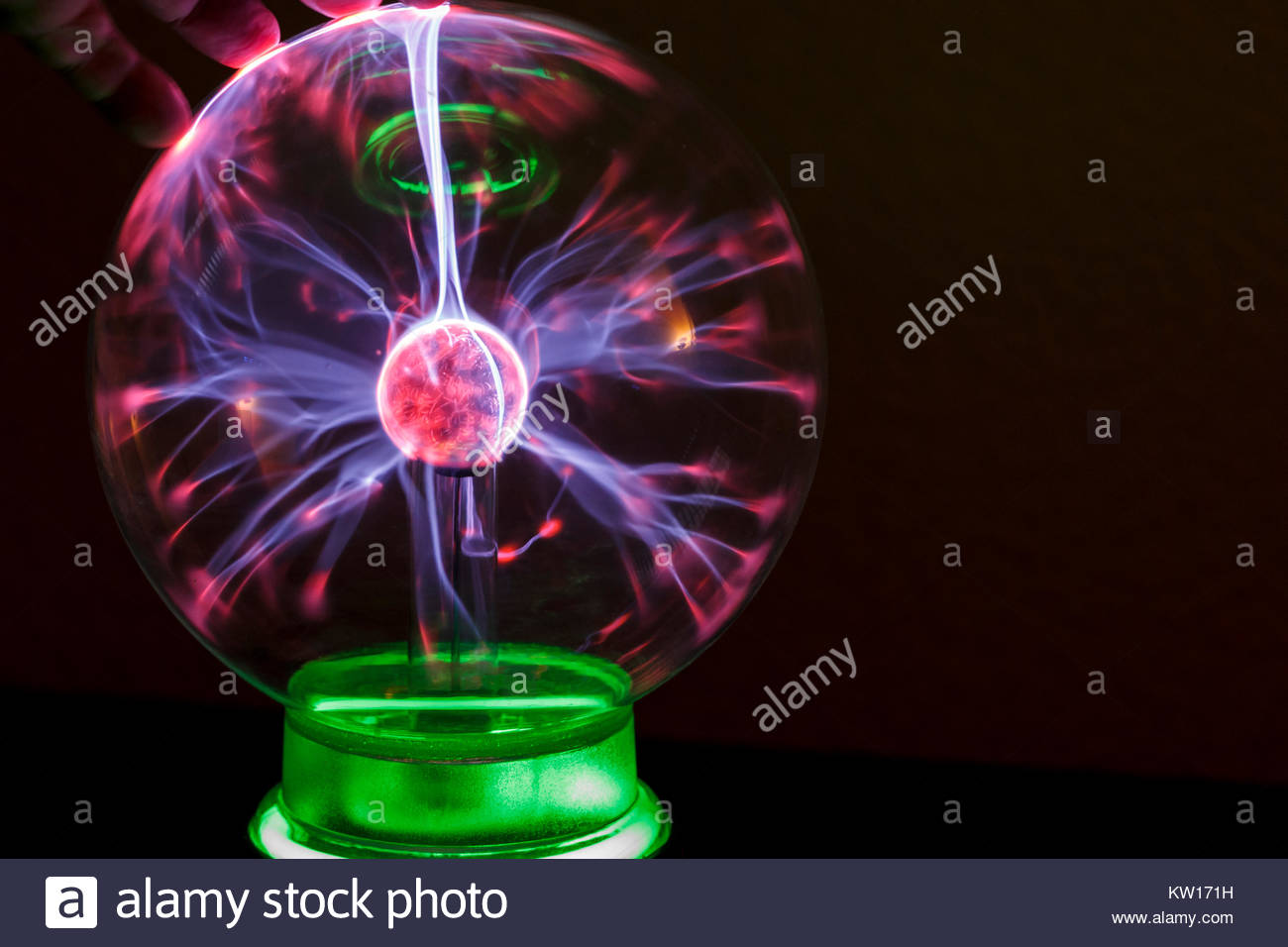Corona discharge in a gaseous medium with the example of