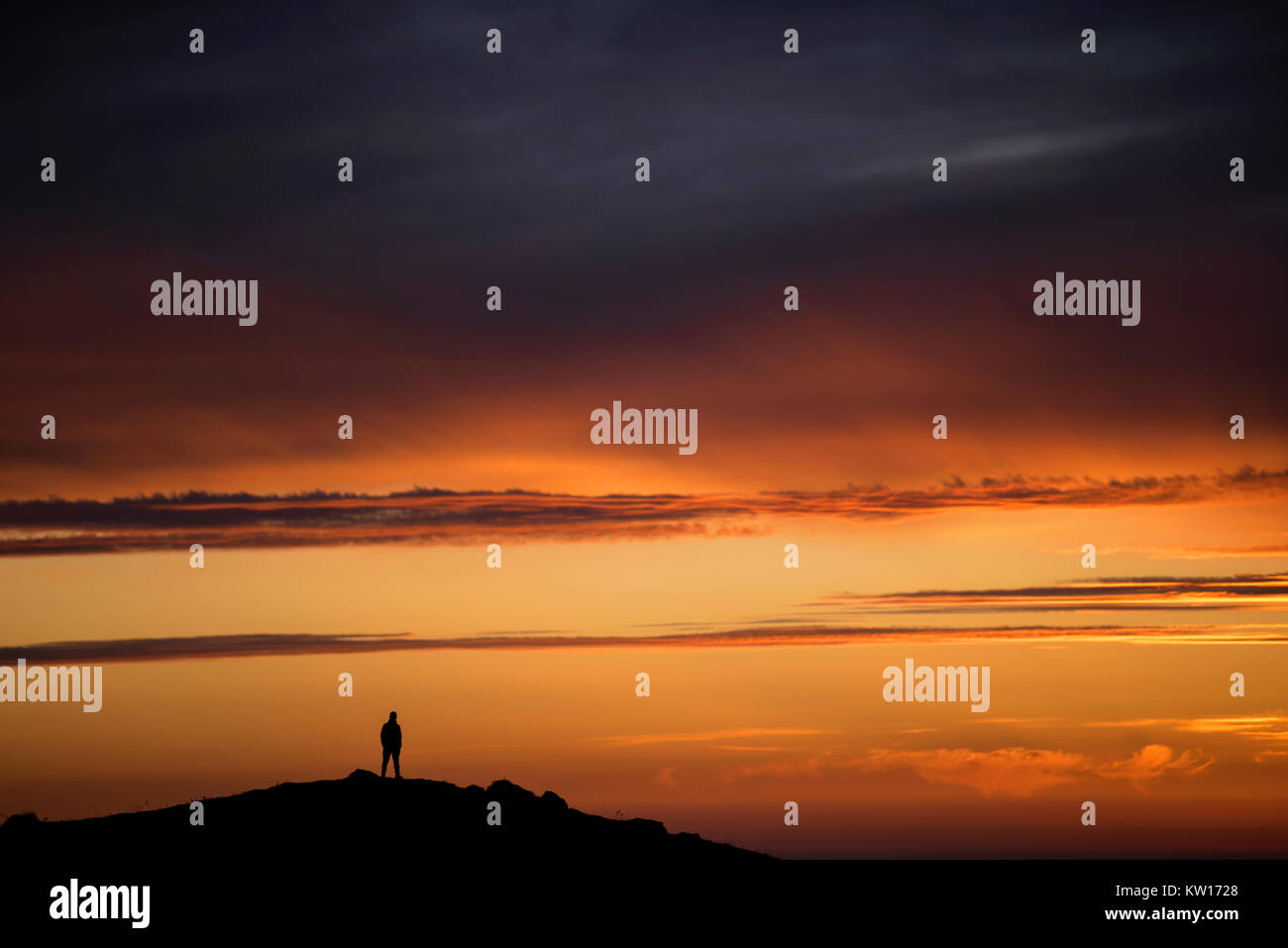 dawn diaries - Stock Image