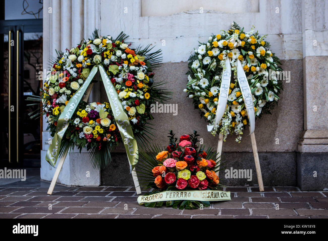 Gualtiero marchesi funeral stock photos gualtiero marchesi funeral famous italian chef gualtiero marchesi was died on 26 december 2017 and the funeral held izmirmasajfo