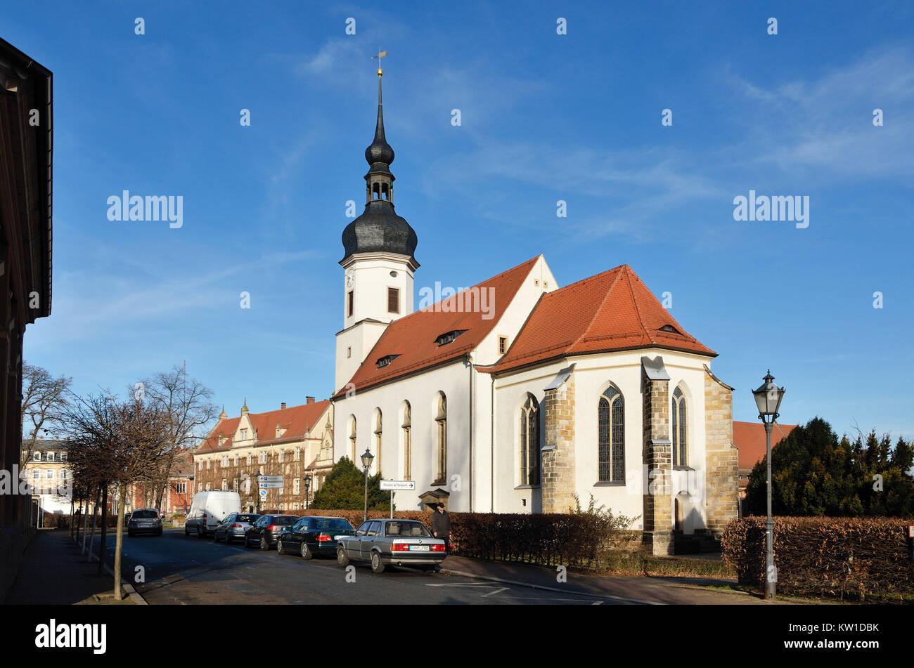 Riesa, Klosterkirche Sankt Marien - Stock Image