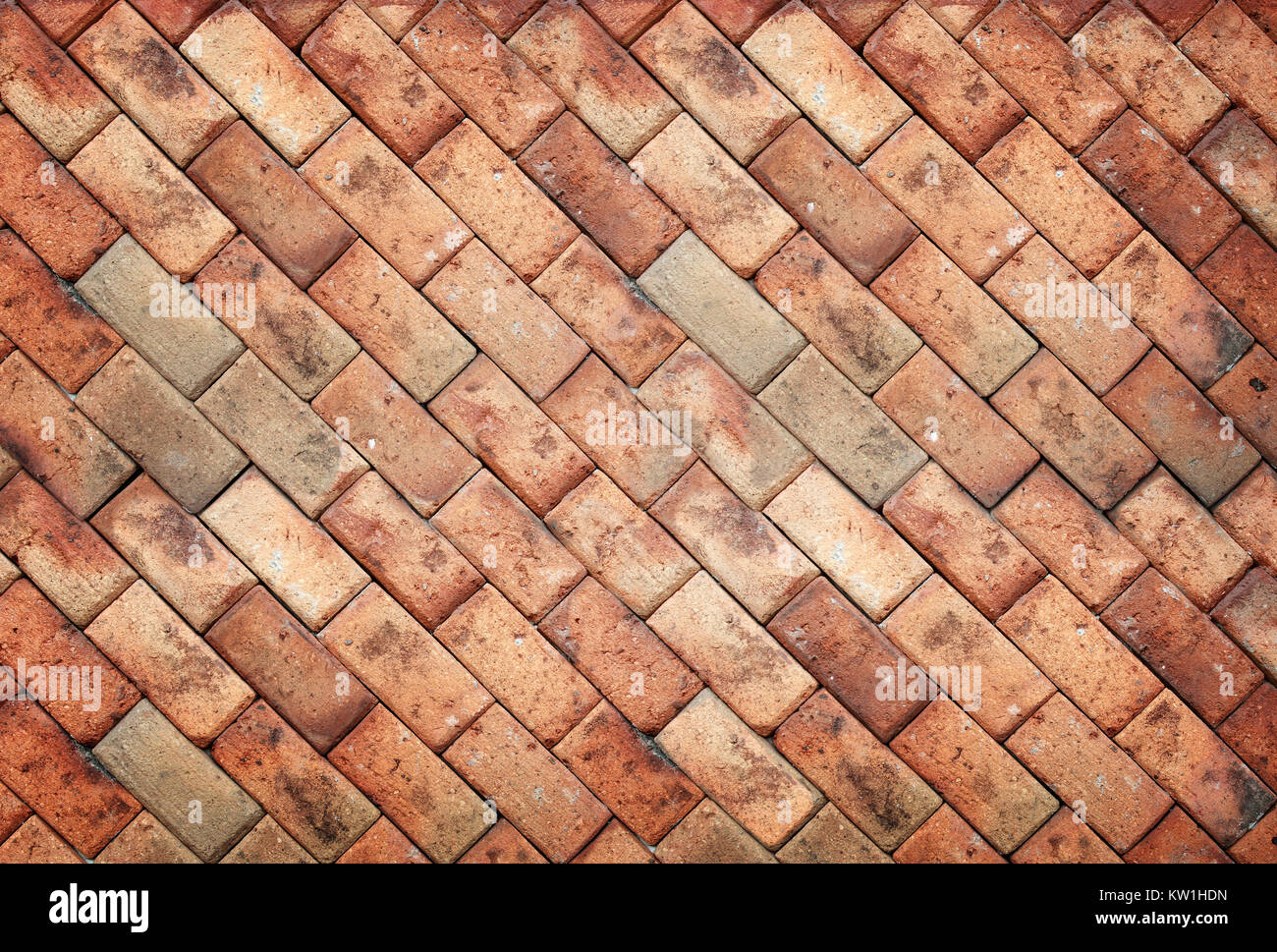 brown brick wall texture - Stock Image