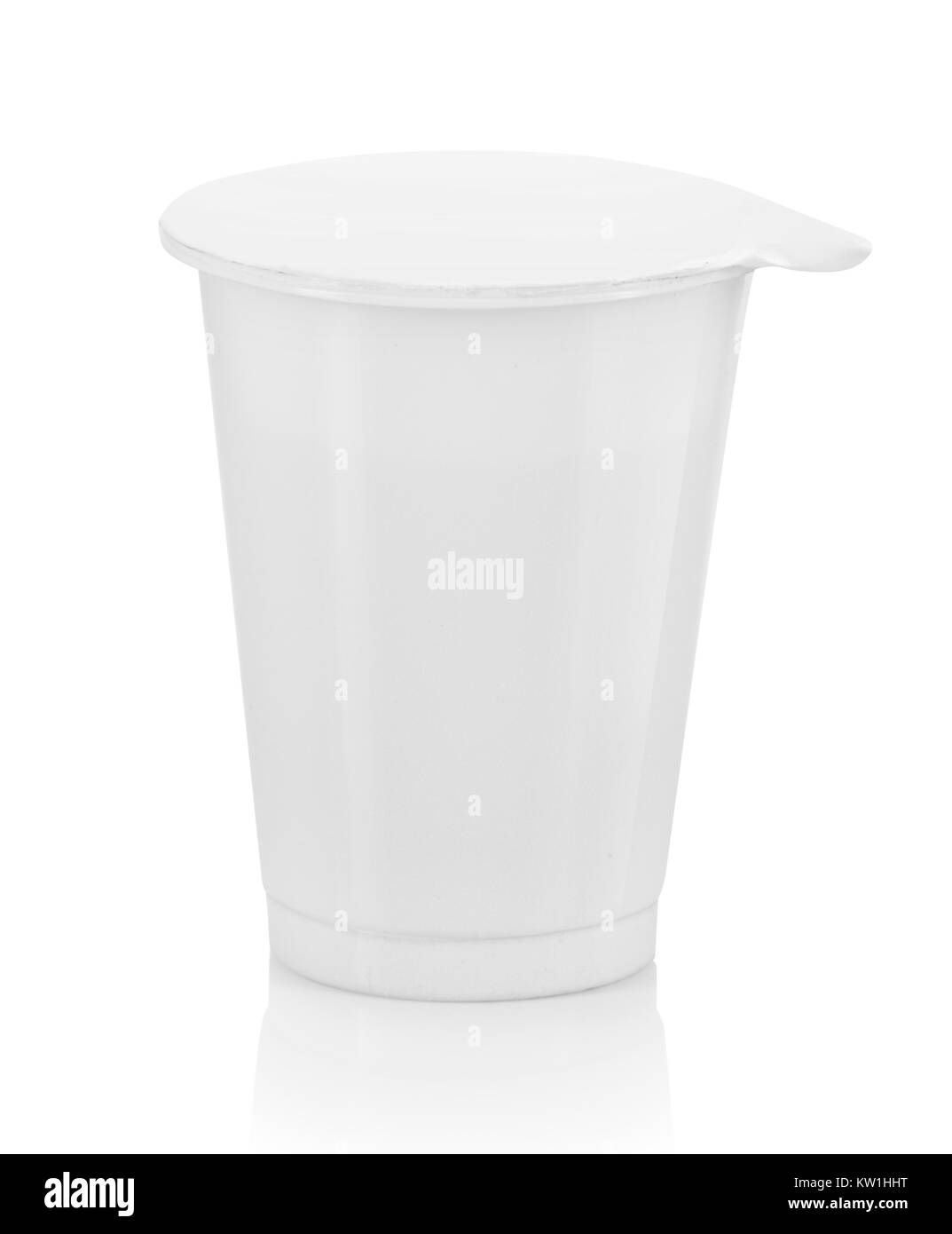 food plastic container - Stock Image