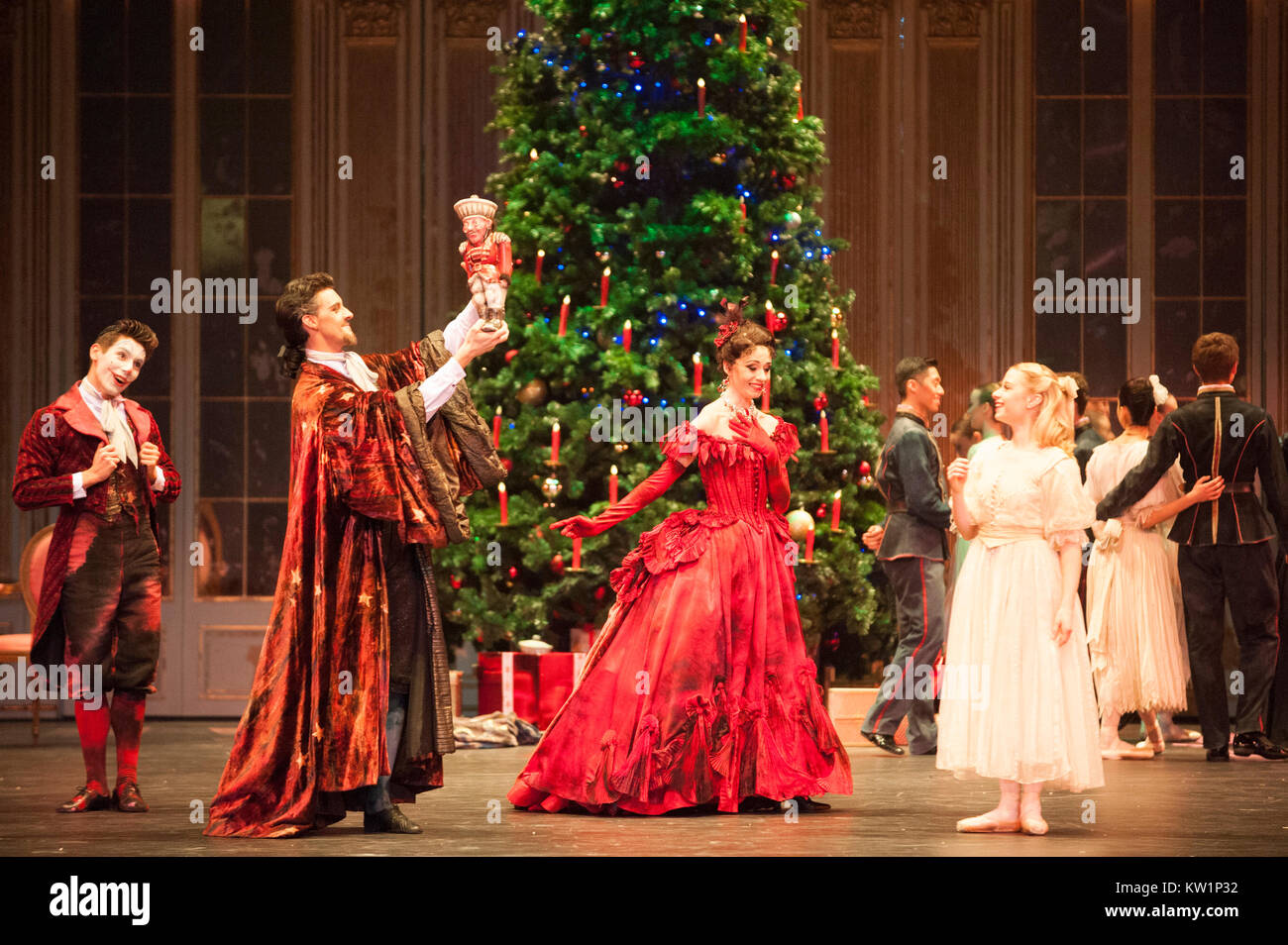 Birmingham Royal Ballet brings its Christmas favorite, The Nutcracker, to the Royal Albert Hall for the first time, - Stock Image