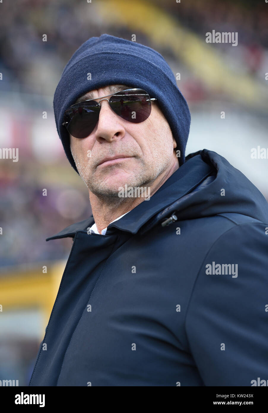 Turin, Italy. 30th Dec, 2017. Davide Ballardini head coach of Genoa CFC, during the Serie A football match between Stock Photo