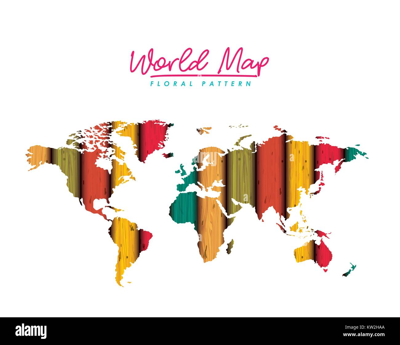 Internet map globe world lines stock vector images alamy world map floral pattern with colored lines on white background stock vector gumiabroncs Gallery