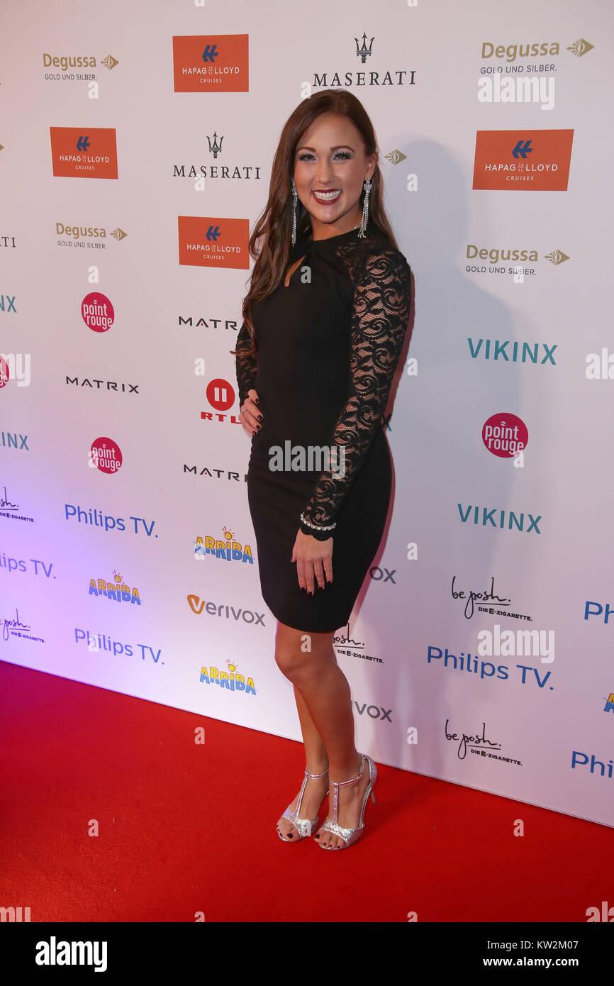 Movie Meets Media Party 2017 at hotel Atlantic in Hamburg  Featuring: Danika Wist Where: Hamburg, Germany When: - Stock Image