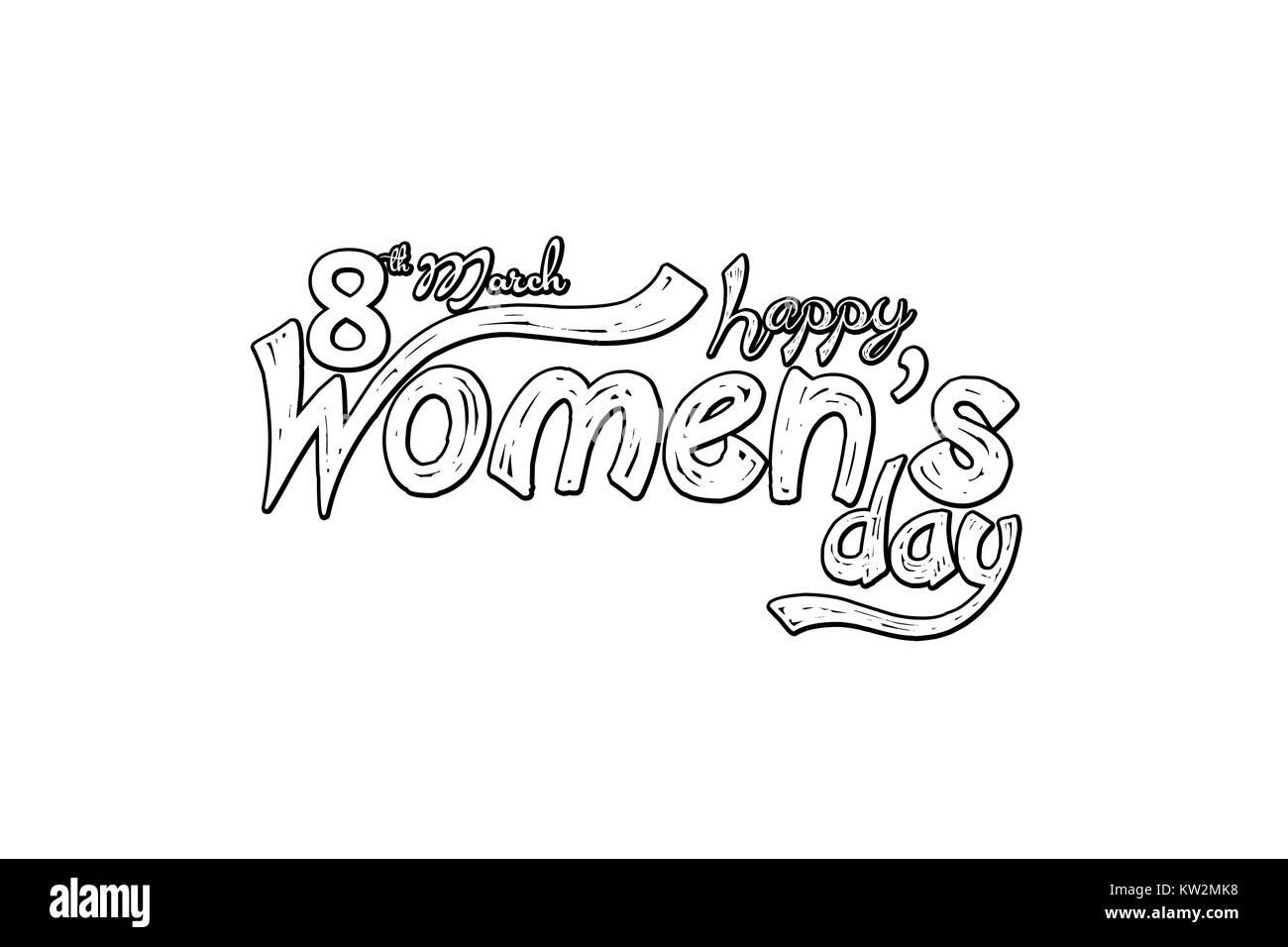 Womens Day Greeting Cards International IconWomens Symbol