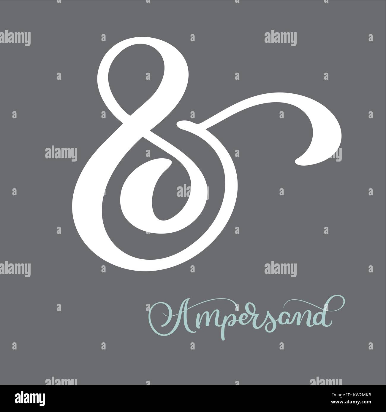 Vector Set Vintage Sign Ampersand Stock Photos Vector Set Vintage