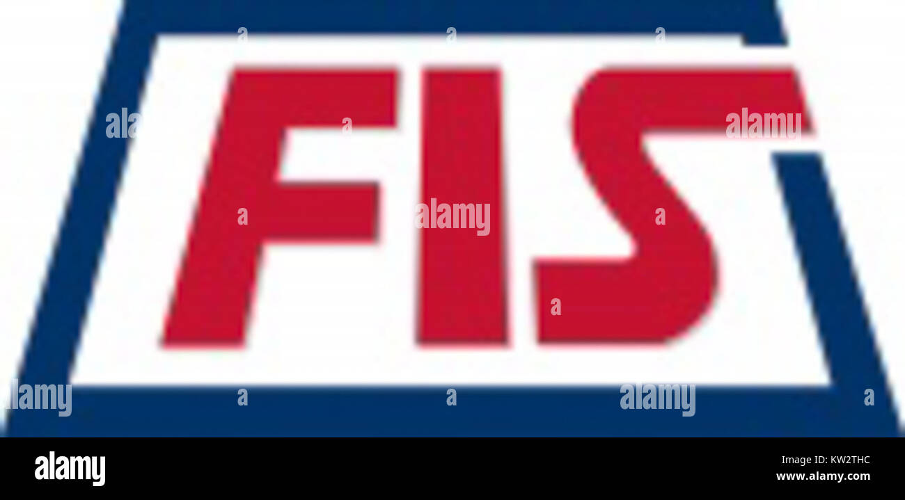 Logo ICTS FIS Logo with shadow - Stock Image