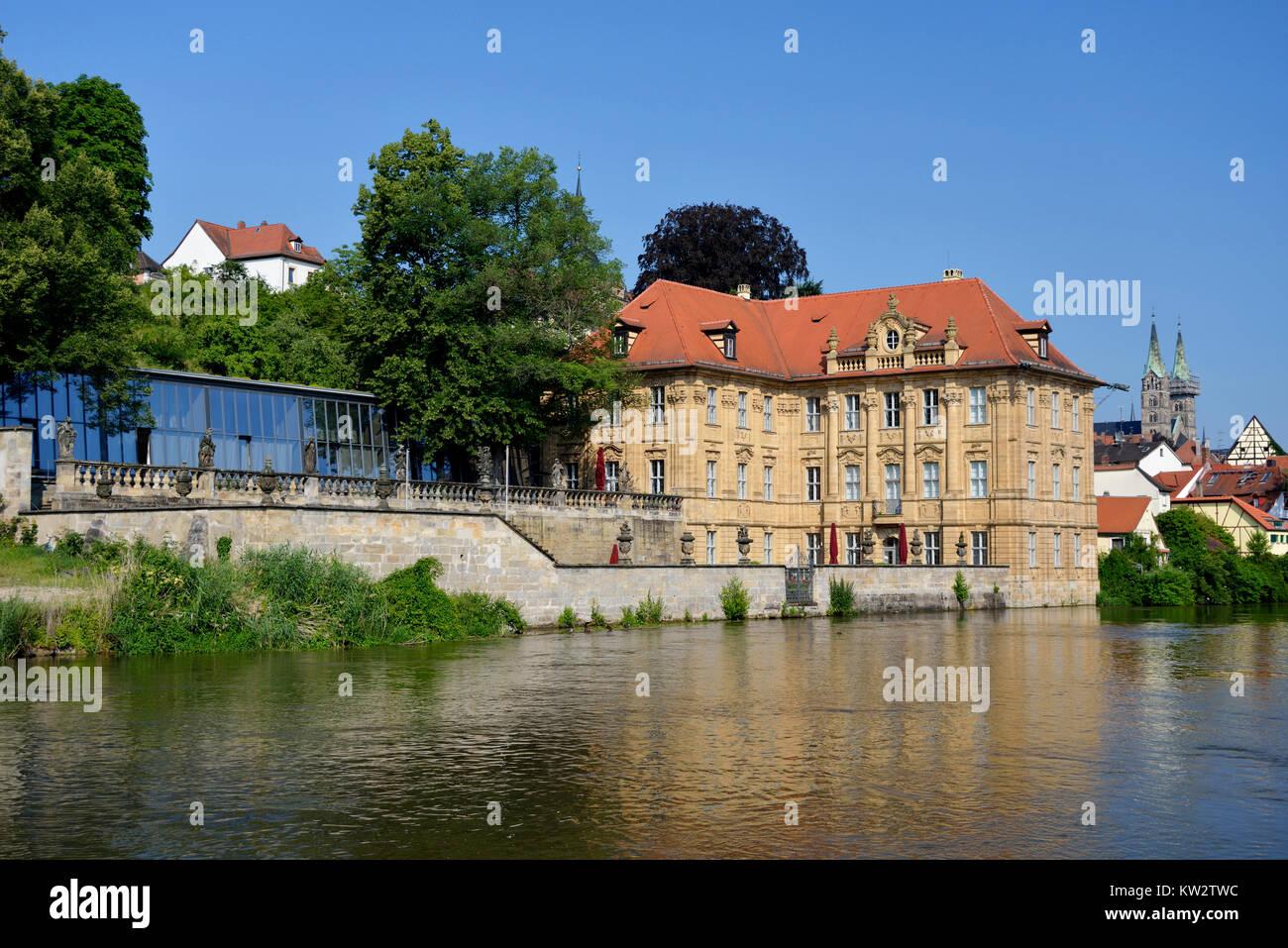 international artist's house Villa Concordia in Bamberg, Bamberg,  internationales Kuenstlerhaus Villa Concordia - Stock Image