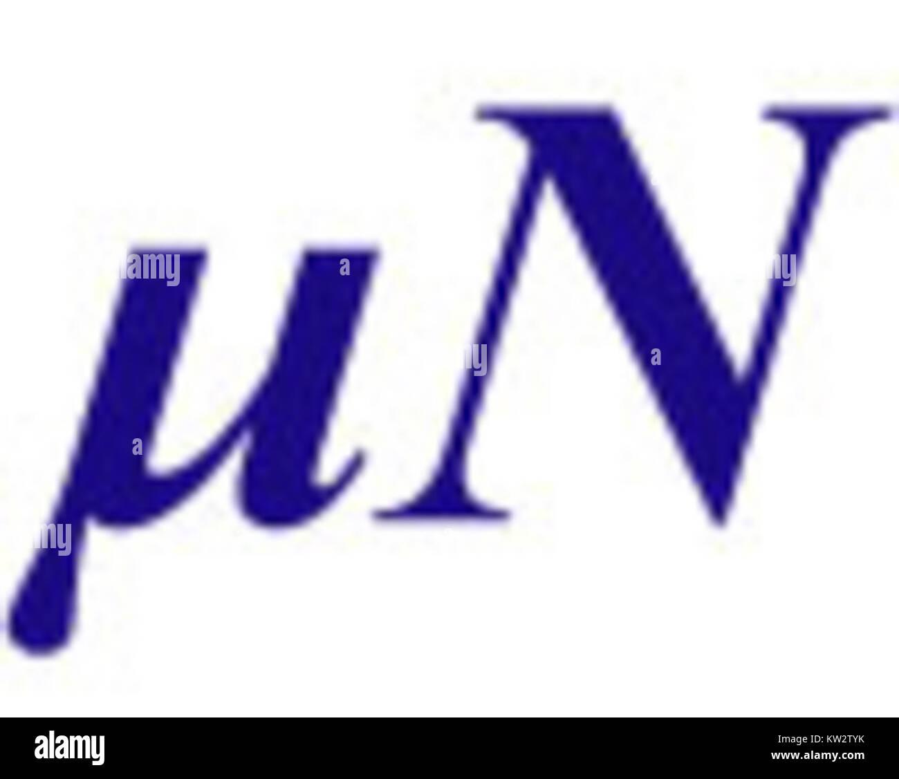 Micronation logo - Stock Image