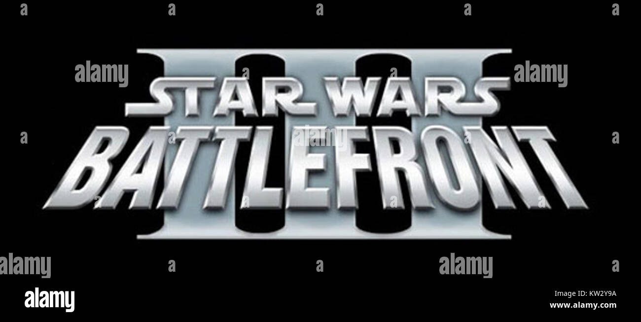 Logo Star Wars Battlefront III - Stock Image