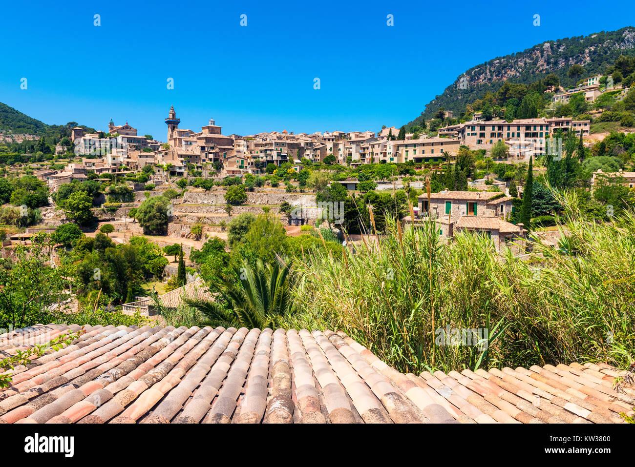 Valldemossa Mallorca Spain Stock Photo
