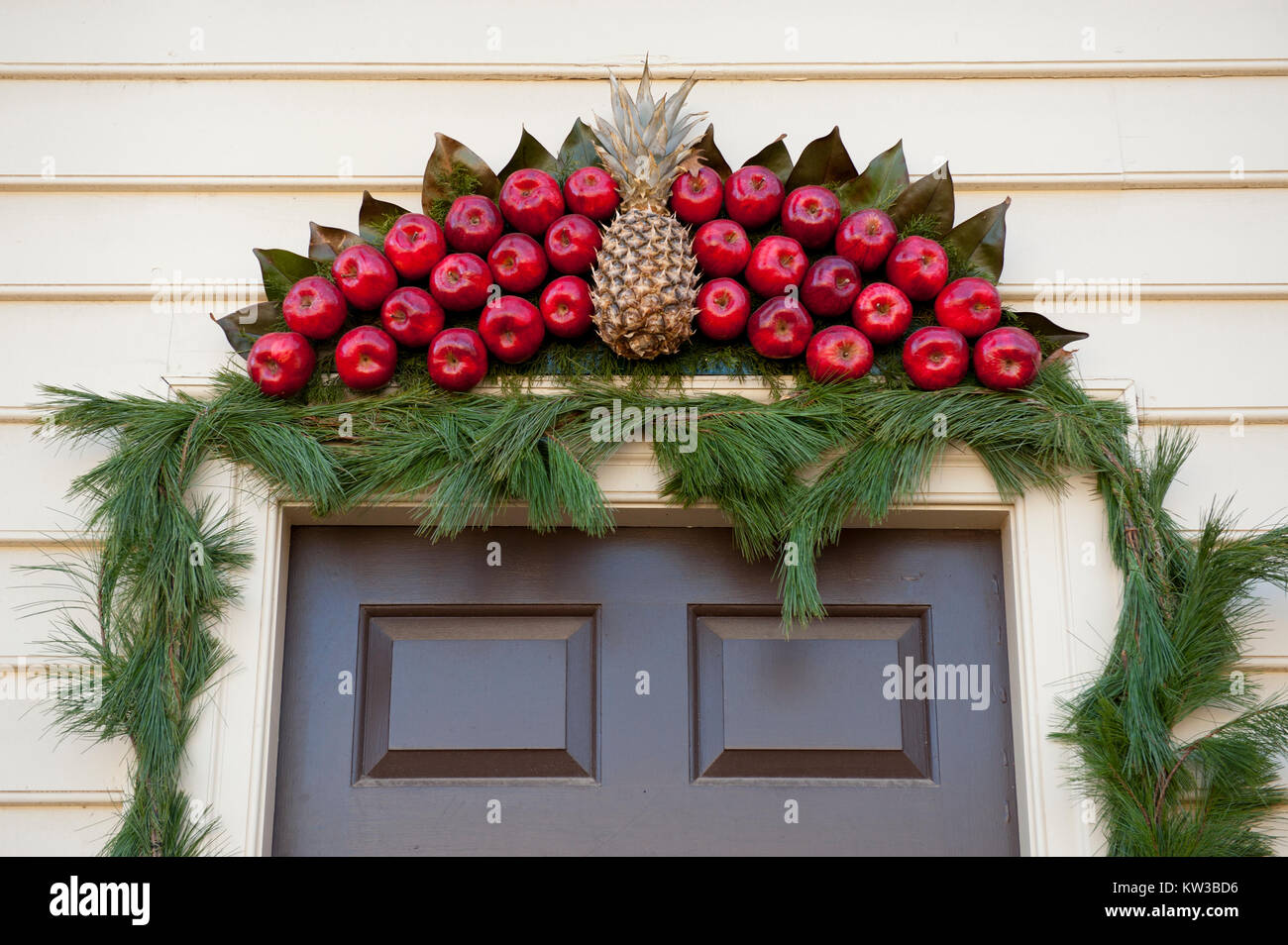 Colonial Williamsburg Christmas.Usa Virginia Va Colonial Williamsburg Christmas Holiday