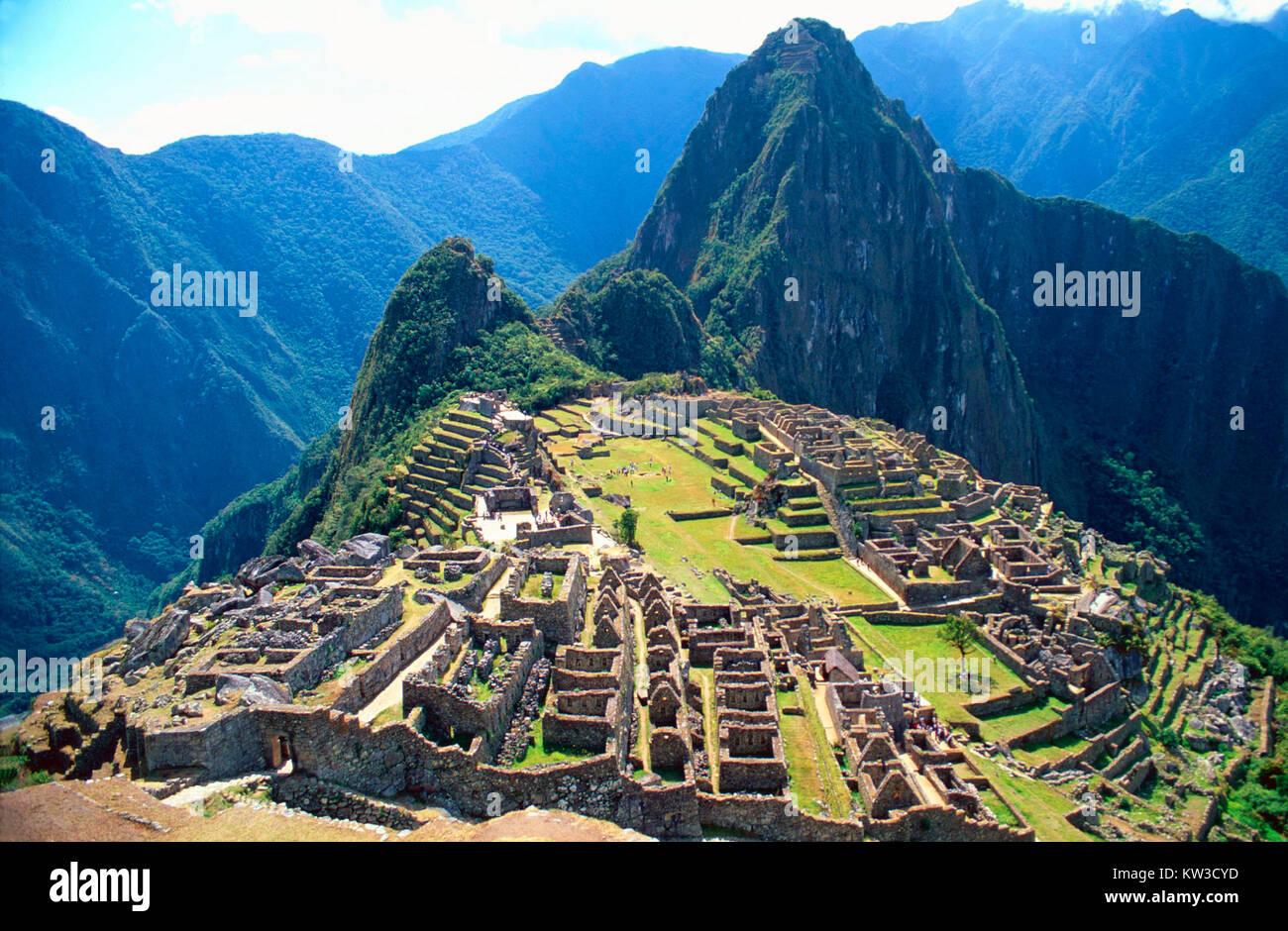 Machu Picchu.Peru - Stock Image