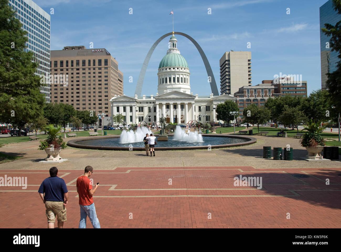 Saint Louis Missouri - Stock Image