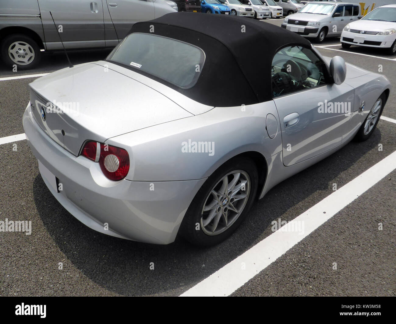 Bmw Z4 Roadster 22i E85 Rear Stock Photo 170341396 Alamy