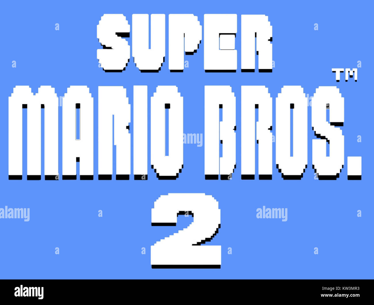 Super Mario Bros High Resolution Stock Photography And Images Alamy