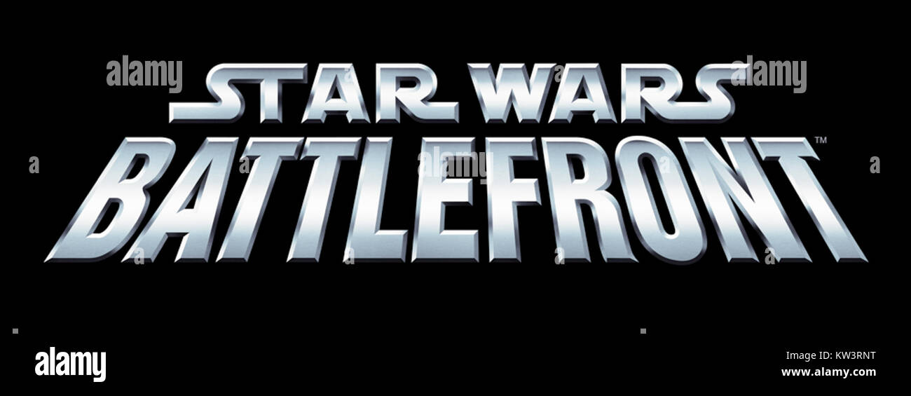 Logo Star Wars Battlefront - Stock Image
