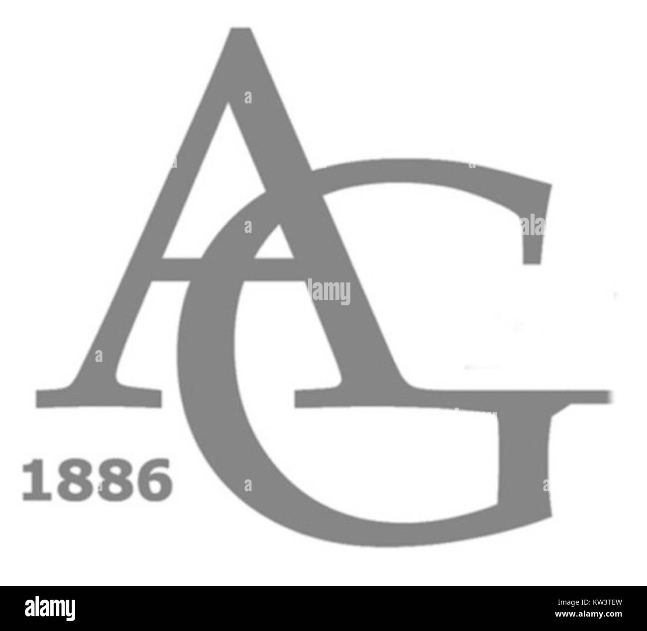 Logo Anatomische Gesellschaft - Stock Image