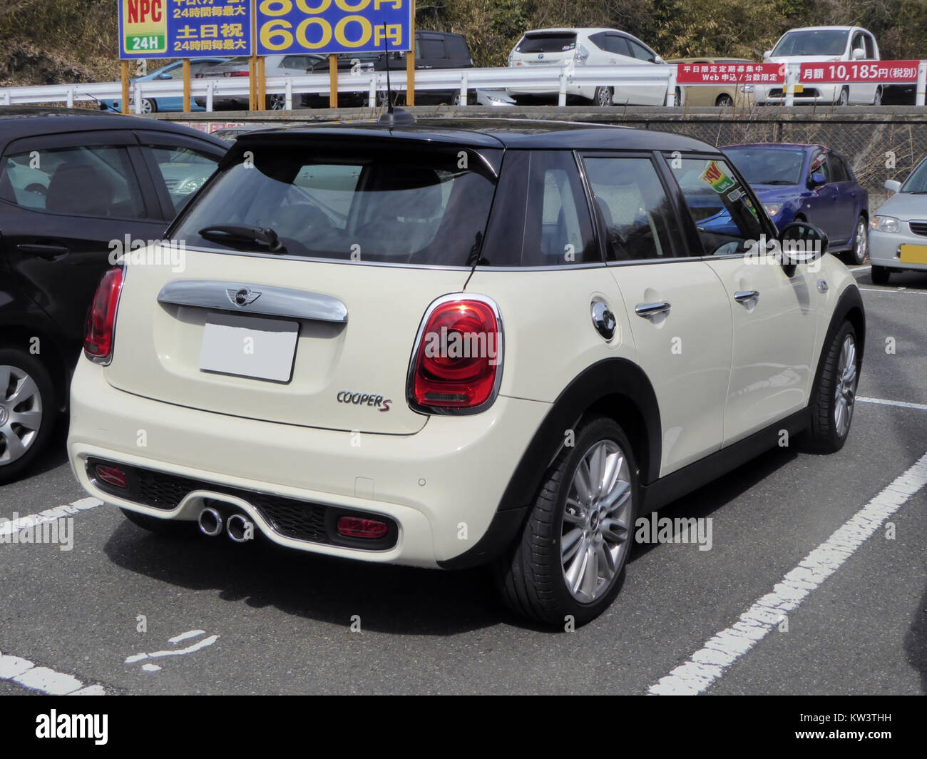 Bmw Mini Cooper S 5door F55 Rear Stock Photo 170344877 Alamy