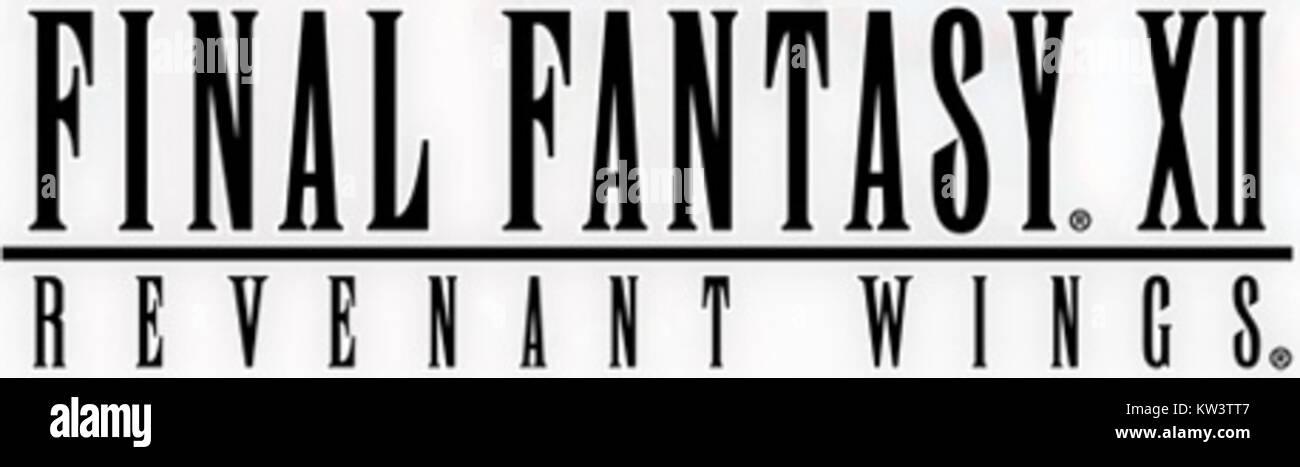 Logo Final Fantasy XII Revenant Wings - Stock Image
