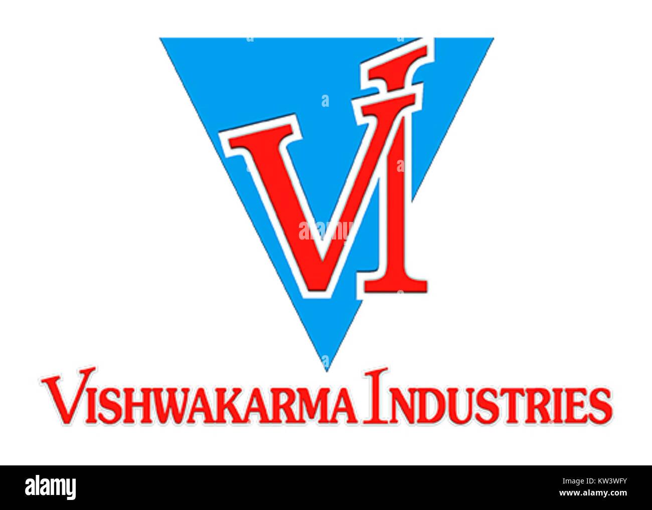 Vishakarma Industries Logo - Stock Image