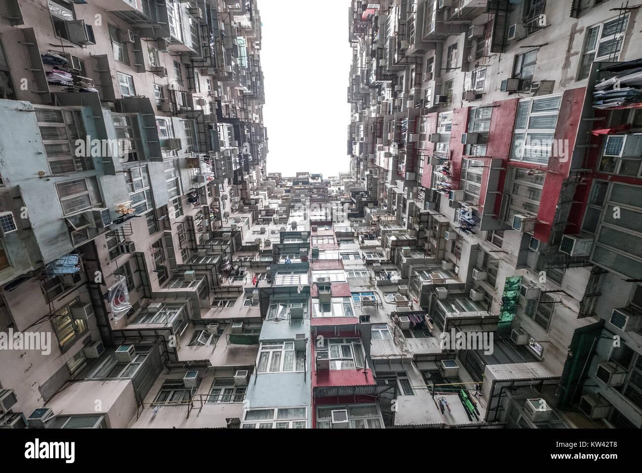 hong kong apartment buildings Stock Photo: 170349768 - Alamy