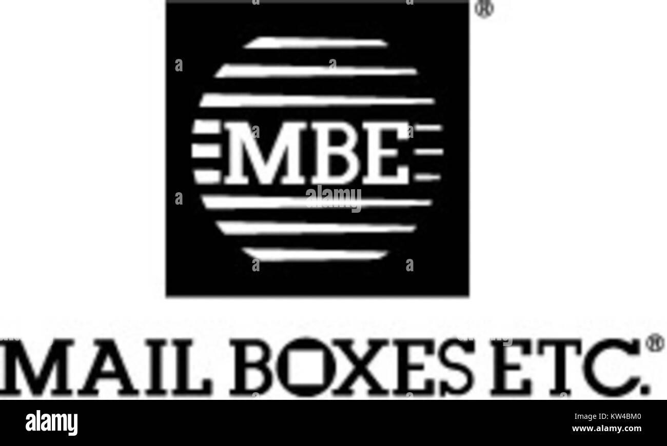 Mailboxes etc logo Stock Photo