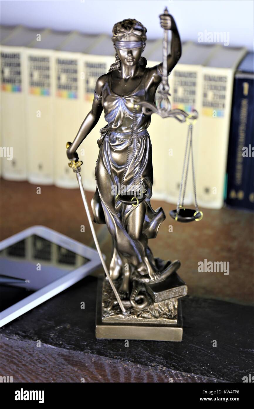 Blind Justice Statue Stock Photos Amp Blind Justice Statue