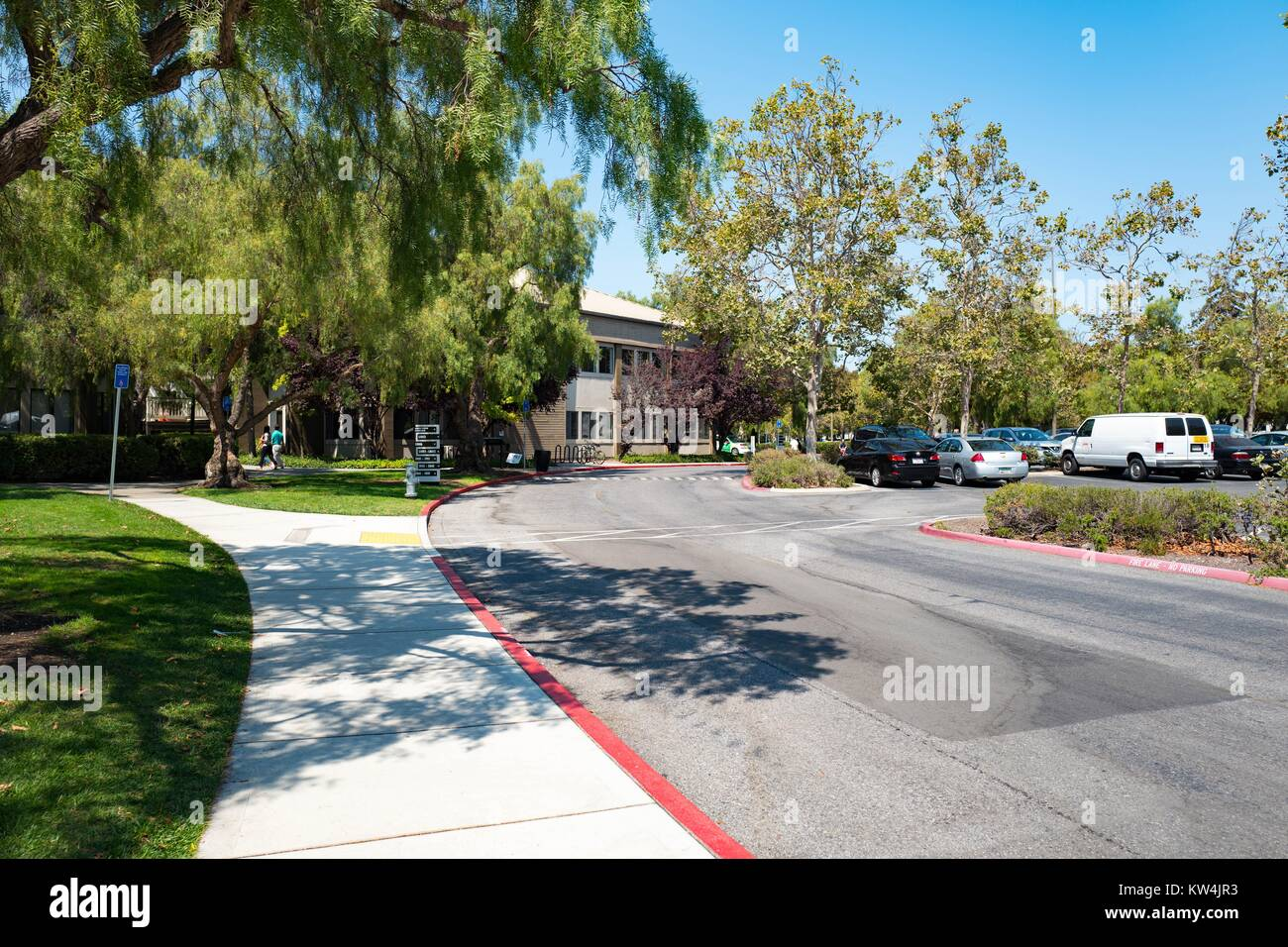 google office pictures california interior satellite offices in nearby office park at the googleplex headquarters of search engine google offices california stock photos