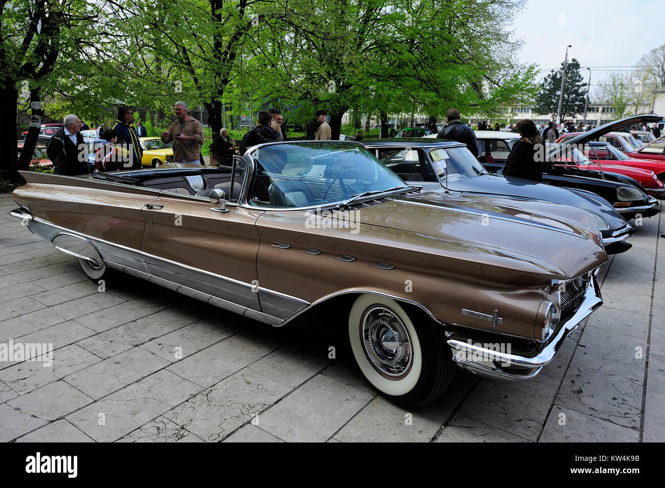 Old Buick Electra Stock Photos Images Alamy 1961 Convertible Belgrade Serbia April 10 2010 225 Seen On Fourth Annual
