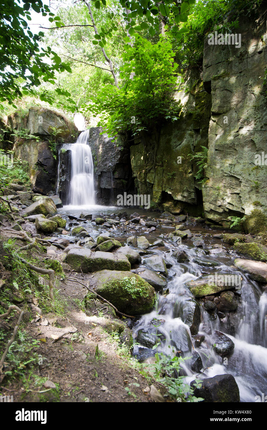 photo cottage photos bentley lumsdale brook peak district lake autumn derbyshire ma stock pond uk