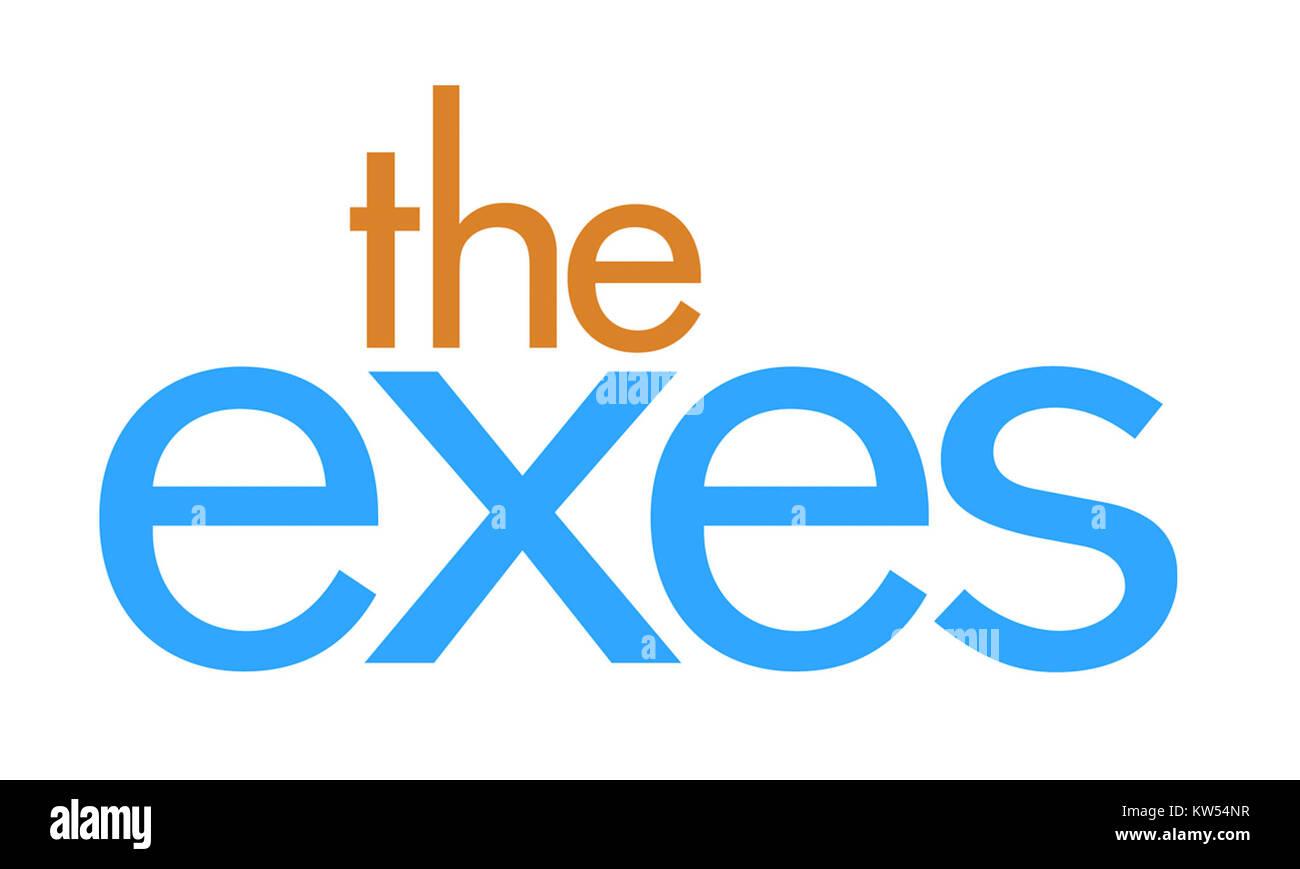 The exes logo final - Stock Image