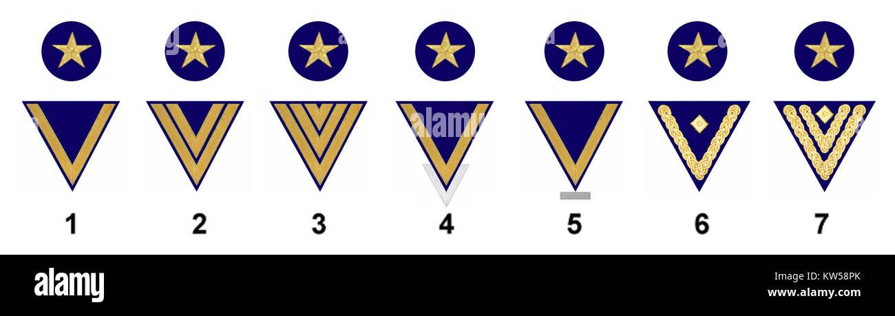 Mannschaften Marine k - Stock Image