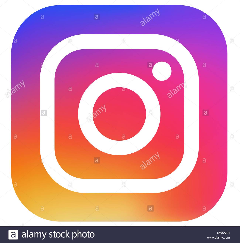 Instagram Logo Stock Photo 170377559 Alamy