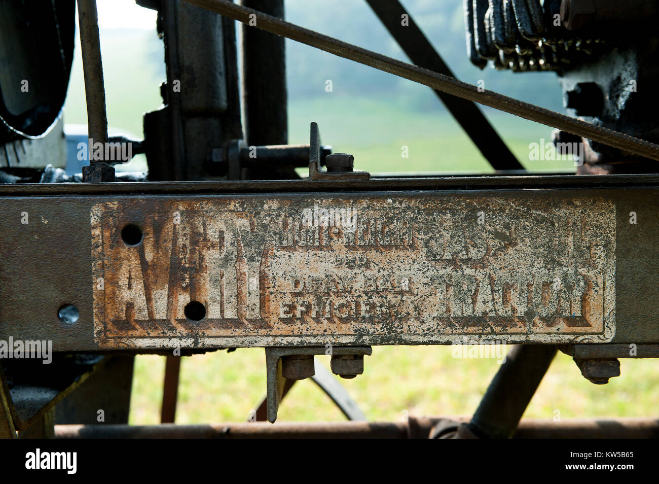 1923 avery model 20 35 close up of original decals in exceptional