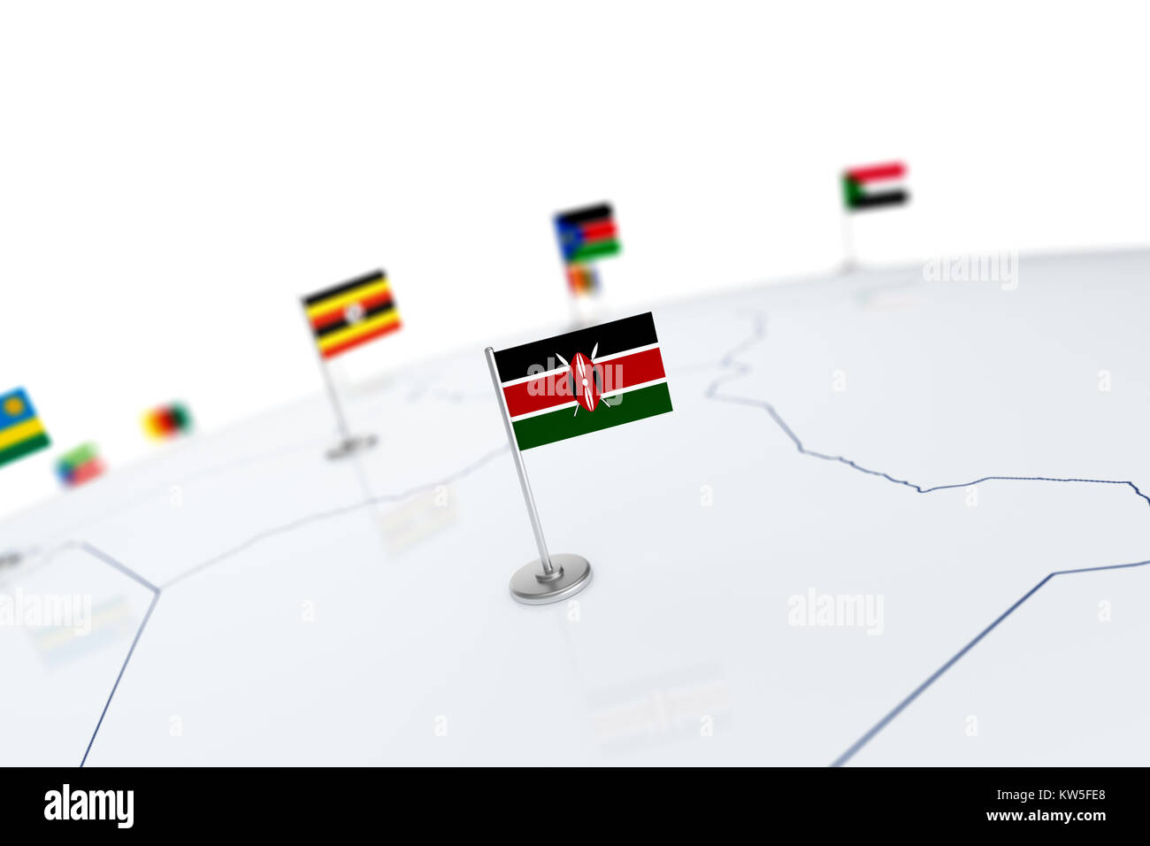 Kenya flag. Country flag with chrome flagpole on the world map with on kenya police map, kenya road map, kenya citizen-news, kenya on map, uganda map, kenya men, kenya ladies, kenya native animals, kenya media gossip, kenya map map, kenya ethnic groups map, kenya people maasai, kenya globe map, ghana map, kenya heart map, kenya country map,